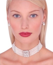 perlový náhrdelník collar